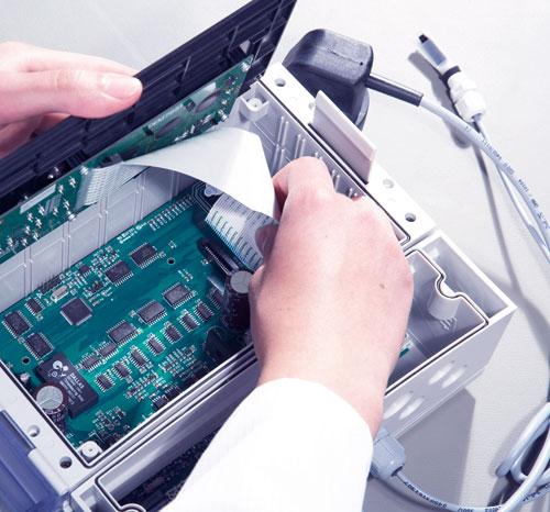 Montage eines Gerätes