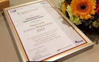 Preis der jungen Wirtschaft 2017